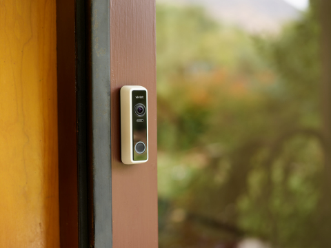 With a combination of intelligence, optics and deterrent features, the Vivint Doorbell Camera Pro helps prevent crime before it happens. (Photo: Business Wire)