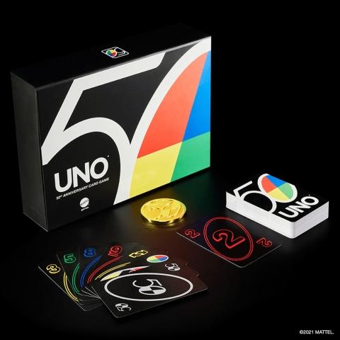 UNO 50th Anniversary Premium Card Set (Photo: Business Wire)