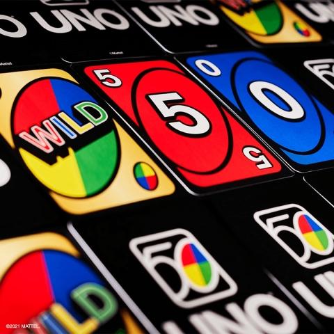 UNO 50th Anniversary Card Deck (Photo: Business Wire)