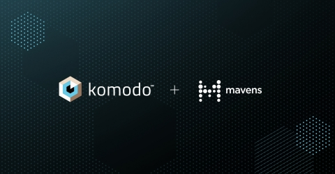 Komodo Health acquires Mavens, a pioneer in cloud computing for the life sciences industry. The acquisition brings together Komodo's Healthcare Map™ and software suite with enterprise applications from Mavens, creating the most advanced data-driven, enterprise platform for healthcare and life sciences. Together, Komodo Health and Mavens will transform systems of record into systems of insight. (Photo: Business Wire)