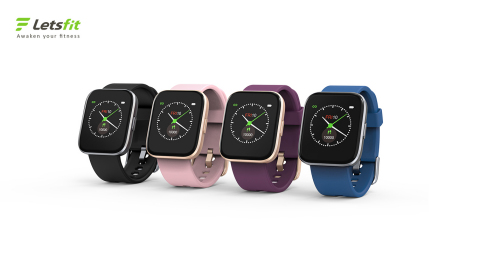 "Letsfit's most advanced smartwatch to date, the IW1, boasts 5-7 days of battery life, IP68 waterproof rating, GPS connectivity and a 1.4"" LCD screen for just $39.99. (Photo: Business Wire)"