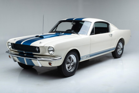 Shelby GT350 #5S553 is one of just 562 built by Shelby American for the 1965 model year. (Photo: Business Wire)