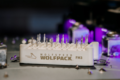 Wolfspeed WolfPACK Power Module (Photo: Business Wire)