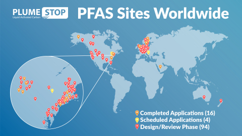 PLUMESTOP: PROVEN TO ELIMINATE THE RISK OF PFAS IN GROUNDWATER (Graphic: Business Wire)