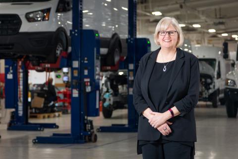 Teresa Covington, CFO of Lightning eMotors. (Photo: Business Wire)