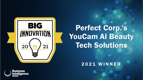 Perfect Corp. wins 2021 BIG Innovation Award (Graphic: Business Wire)