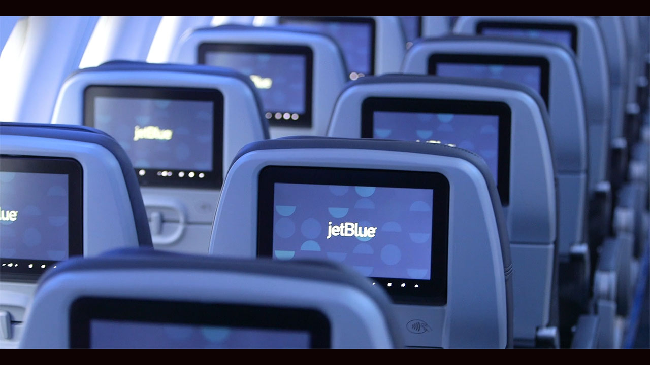 Welcome aboard JetBlue's first A220 aircraft.