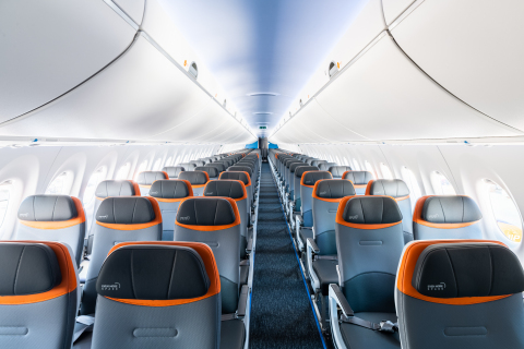 Welcome aboard JetBlue's A220 aircraft. (Photo: Business Wire)