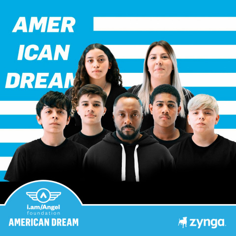 Zynga Partners with will.i.am and the i.am Angel Foundation to Raise $5 Million to Fund Opportunity and STEAM Education for Students (Photo: Business Wire)