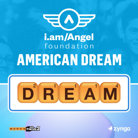 Zynga Partners with will.i.am and the i.am Angel Foundation to Raise $5 Million to Fund Opportunity and STEAM Education for Students (Graphic: Business Wire)