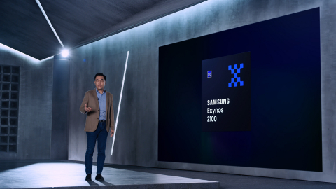 Exynos 2100 introduced by Dr. Inyup Kang (Photo: Business Wire)