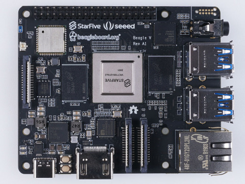 BeagleV™ world's first affordable RISC-V board designed to run Linux (Photo: Business Wire)