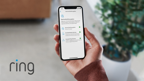 The first major smart home security company to offer video End-to-End Encryption, Ring has begun rolling out the feature to customers as a technical preview.