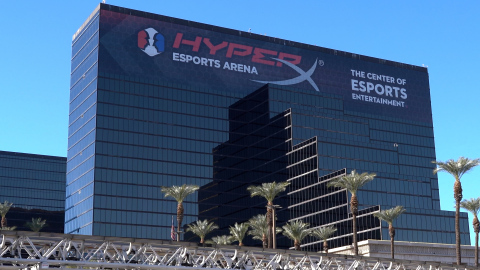 HyperX Sponsorship of Iconic Las Vegas Arena Reinforces Commitment to Gaming Experiences and Creating Community as $1 Billion Esports Industry Continues to Grow Globally (Photo: Business Wire)