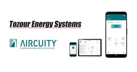 Aircuity's partnership with Tozour Energy Systems provides healthy and energy-efficient air quality solutions to schools and businesses in Eastern Pennsylvania, Southern New Jersey and Delaware. (Photo: Business Wire)