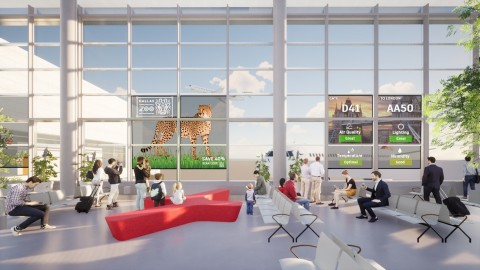 View, the market leader in smart glass, announced that its smart windows will be installed in Dallas Fort Worth International Airport's new expansion of Terminal D. (Photo: Business Wire)