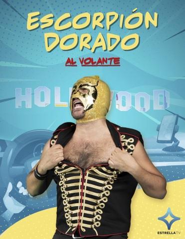 """""""Escorpión Al Volante"""" [publicity image]"""
