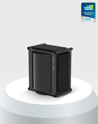 De professionele leverancier van LiDAR-sensoren SOSLAB heeft de CES 2021 Innovation Awards gewonnen voor hun solid-state LiDAR ML voor motorvoertuigen. De solid-state LiDAR ML voor autonome voertuigen heeft de Innovation Awards gewonnen in de categorie Voertuigintelligentie en transport. Deze prijs erkent de uitmuntendheid van dit product ML: compact LiDAR zonder het verplaatsen van onderdelen binnenin het voertuig, wat eenvoudiger gebruik van voertuigsensoren mogelijk maakt in termen van grootte, gewicht en stabiliteit. ML is gemakkelijk te fabriceren in massaproductie met een eenvoudig structureel ontwerp dat naar verwachting aandacht zal trekken op de LiDAR-markt voor motorvoertuigen. ML zal alleen worden geleverd aan strategische partners, terwijl prototypeproducten op de mondiale markt worden gelanceerd op de CES 2021. Meer informatie over ML is te vinden in de stand van SOSLAB op de CES 2021-beurs die online wordt gehouden van 11 tot 14 januari. (Foto: Business Wire)