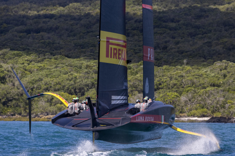 America's Cup Italian team bets on world-class Wi-Fi connectivity for a winning experience (Photo: Business Wire)