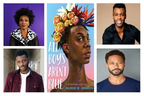 "Jenifer Lewis, Dyllón Burnside, Bernard David Jones and Thomas Hobson Cast in Filmed Dramatic Reading of George M. Johnson's Bestselling Memoir, ""All Boys Aren't Blue"" for National Black HIV/AIDS Awareness Day (Graphic: Business Wire)"