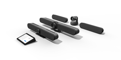 Logitech is raising the bar on video conferencing with all new video appliances. (Photo: Business Wire)