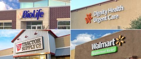Tenants of ExchangeRight's Net-Leased Portfolio 41 DST (Graphic: Business Wire)