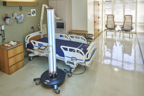 The UVDI-360 Room Sanitizer is used in approximately 1,000 hospitals globally. (Photo: Business Wire)
