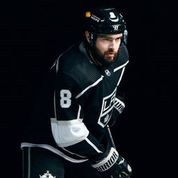 LA Kings All Star defenceman Drew Doughty's game helmet features new team partner CalHOPE Crisis Counseling Program (Photo: Business Wire)
