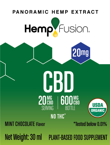 HempFusion CBD 20mg (Graphic: Business Wire)