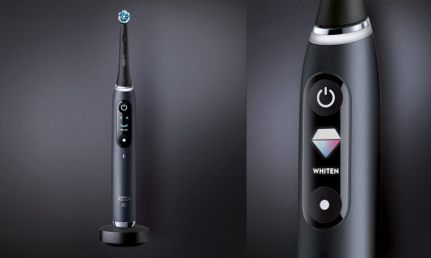 欧乐B iO电动牙刷,黑玛瑙色(照片:美国商业资讯)