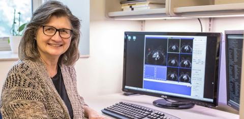 芝加哥大學A.N. Pritzker放射線學教授Maryellen Giger獲得2021年SPIE主任獎。(照片:美國商業資訊)