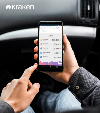 Kraken launches easy-to-use app, offering a highly secure way to invest in cryptocurrencies (Photo: Kraken Exchange)