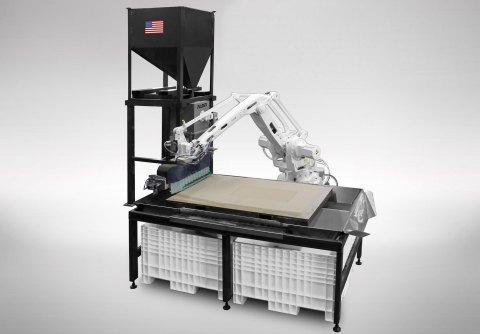 EnvisionTEC's RAM digital casting platform provides an opportunity to bring Desktop Metal's Single Pass Jetting technology to large castings in the foundries market. (Photo: Business Wire)