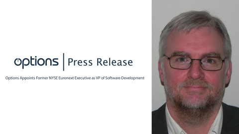 Options Appoints Former NYSE Euronext Executive as VP of Software Development (Photo: Business Wire)