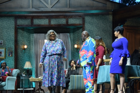 "TYLER PERRY'S POPULAR STAGE PLAY ""MADEA'S FAREWELL PLAY"" TO MAKE ITS WORLD TELEVISION DEBUT TUESDAY, FEBRUARY 16 AT 8 PM ET/PT ON BET and BET HER (PHOTO CREDIT: CHARLES BERGMANN/TYLER VISION, LLC)"