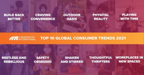 Euromonitor International's annual report identifies the 10 most prevalent trends that will define consumer behavior in the year ahead, offering strategic business recommendations to meet new demands. (Graphic: Euromonitor International)