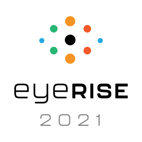 eyeRISE, or Eye Research Innovation Symposia & Expo, is a new, multi-disciplinary virtual congress showcasing the latest innovations in eye care. It will feature three solutions-focused tracks, delivering clinical and practical education through symposia, roundtable discussions and interactive workshops. (Graphic: Business Wire)