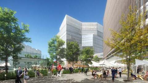 Assembly Square Site in Somerville, Massachusetts. (Photo: BioMed Realty)
