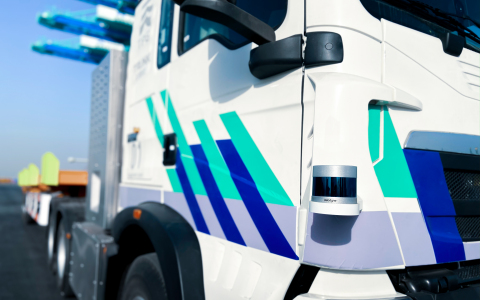 Velodyne Lidar and Trunk.Tech will collaborate in developing next-generation autonomous heavy trucks and to accelerate commercialization of driverless trucks in China's logistics market. (Photo: Trunk.Tech)