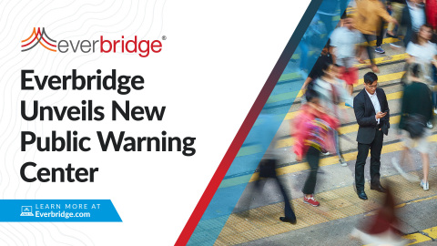 Critical Event Management (CEM) leader announces new Public Warning Center (Photo: Business Wire)