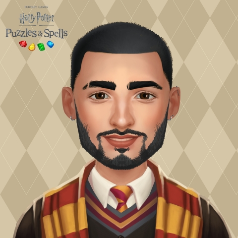 Zayn Malik Avatar in Harry Potter: Puzzles & Spells (Graphic: Business Wire)