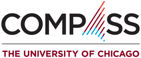 The Compass is a deep tech accelerator program for early-stage startups and technologies created by researchers at the University of Chicago, Argonne National Laboratory, and Fermi National Accelerator Laboratory. (Graphic: Business Wire)