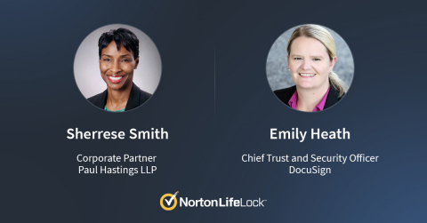 Sherrese Smith and Emily Heath Join NortonLifeLock's Board of Directors (Graphic: Business Wire)