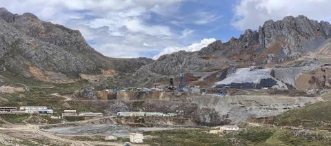 Aerial Photo of Yauricocha Mine, Peru (Photo: Business Wire)
