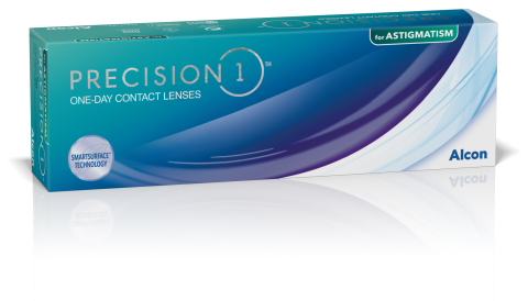 PRECISION1® for Astigmatism packaging (Photo: Business Wire)