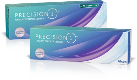 The PRECISION1® family of daily disposable contact lenses (Photo: Business Wire)
