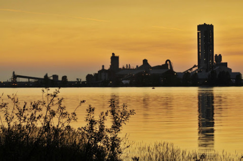 Richmond Cement Plant, British Columbia, Canada (Photo: Business Wire)