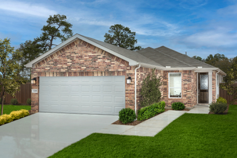 KB Home announces the grand opening of Willow Wood Place, a new-home community in North Houston priced from the $210,000s. (Photo: Business Wire)
