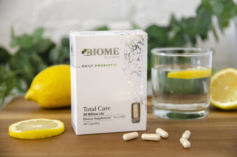 Total Care Daily Probiotic from Biome Research (Photo: Business Wire)