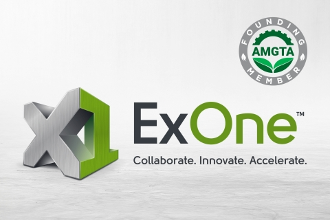 The ExOne Company has joined the Additive Manufacturer Green Trade Association (AMGTA) to support rigorous and independent research into the sustainability aspects of 3D printing. (Graphic: Business Wire)